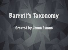A summarised version of Barrett's Taxonomy for comprehension. Comprehension, Screen Shot, Teaching Resources, African, Teacher, Education, Professor, Learning