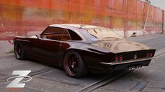 Bo Zolland Working on Custom 1968 Chevrolet Camaro with Supercharged LS3 for 2012 SEMA Show - Carscoops