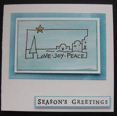 Bethlehem Bethlehem, Christmas Cards, Workshop, Seasons, Decor, Christmas E Cards, Atelier, Decoration, Xmas Cards