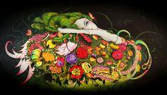 CUMBIA VIRGEN   Joan Alfaro - Artista Plástico Peruano