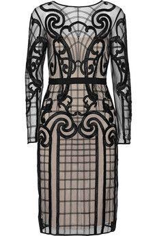 Temperley London Catroux appliquéd tulle dress | THE OUTNET