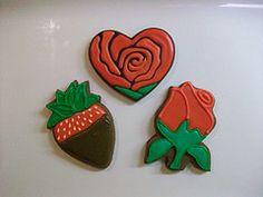 Rose (Heart Cookie Cutter)