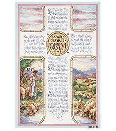 Janlynn 23rd Psalm Cntd X-Stitch Kit