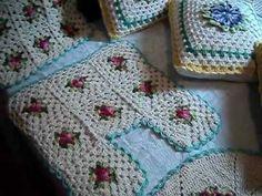 trabalhos manuais em croche de barbante