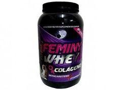 Whey Protein Total Feminy Whey c/ Colágeno 900g - Morango - Body Nutry com as melhores condições você encontra no Magazine Familier. Confira!