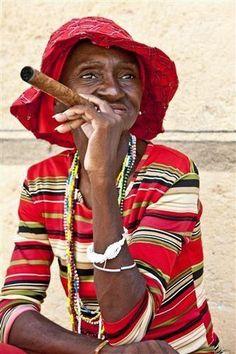 Woman in Red (Old Havana, Cuba) Photographer: Hal Robert Myers