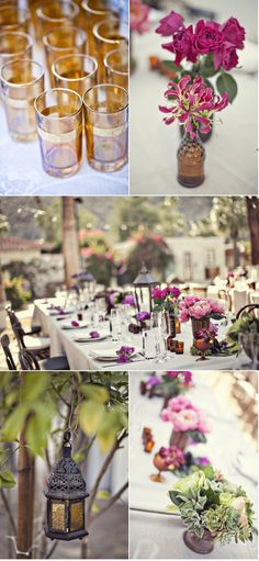 via Style me pretty | Photo: Joy Marie Photography | Event Planning + Design: Amy Kaneko Events | http://www.stylemepretty.com/2012/03/27/palm-springs-wedding-by-amy-kaneko-events/