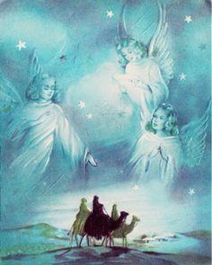 Angels keep watch