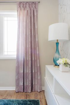 Custom drapery is one of my favourite things to design. In my opinion, there is nothing quite like beautiful window treatments to take a room to the next level! Design-wise, draperies add texture, softness, and elegance to a space. Without them, a room can often feel unfinished and even cold. From a practical standpoint, they can help filter or block light, unsightly views, and noise. I love creating beautiful custom drapery solutions for my clients! Drapery Panels, Drapery Fabric, Curtains, Drapery Styles, Drapery Hardware, Ceiling Height, Design Process, Interior Decorating, Interior Design