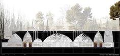 blog sobre arquitectura y arte contemporáneo | seguimiento diario de la actualidad española y mundial. Chinese Architecture, Architecture Drawings, Architecture Details, Granada, Section Drawing, Architectural Section, Architectural Styles, Dome House, Cad Drawing