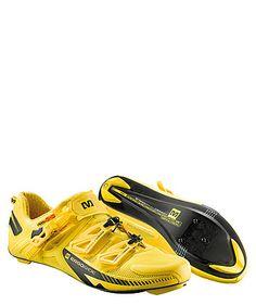 Shoes Zxellium yellow by Mavic  #sports #shoes #bike