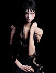 """Gemma Ward by Steven Meisel """" People As Many """" Vogue Italia January 2004"""
