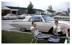 T-Bird sittin'… 1962