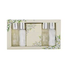 Baylis & Harding Royal Bouquet Lemon Blossom & White Rose Mini 5 piece Set - $10