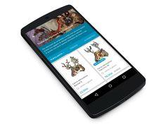 Material Design E-Commerce App by Alberto Conti