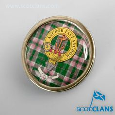 Gray Clan Crest Pin