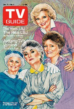 golden girls tv guide cover