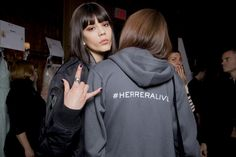 Carolina Herrera Autumn Summer, Carolina Herrera, Milan Fashion Weeks, Fall  2016, Backstage 0167e176fa