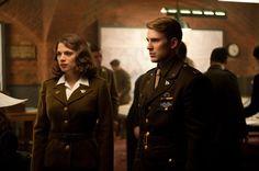 Captain America : First Avenger : Photo Chris Evans, Hayley Atwell, Joe Johnston