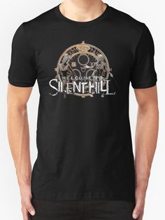 Welcome to Silent Hill, Halo of the Sun tee shirt  Also Available as T-Shirts & Hoodies, Men's Apparels, Women's Apparels, Stickers, iPhone Cases, Samsung Galaxy Cases, Posters, Home Decors, Tote Bags, Pouches, Prints, Cards, Mini Skirts, Scarves, iPad Cases, Laptop Skins, Drawstring Bags, Laptop Sleeves, and Stationeries