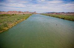 Colorado River downstream of the Cibola National Wildlife Refuge, AZ. Reclamation file photo. #scenic