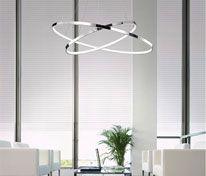 Lámpatípusok - Beltéri világítás - Függeszték - Nova Luce Hoop LED függeszték