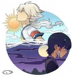 Sun & Moon/Day & Night - Inazuma Eleven ~ DarksideAnime