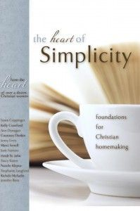 A book to encourage simplicity with a special chapter on homeschooling