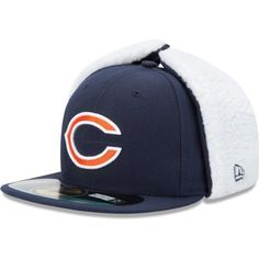 6aa2d2768 Youth New Era Chicago Bears On Field Dog Ear 59FIFTY  Structured Fitted Hat  by New