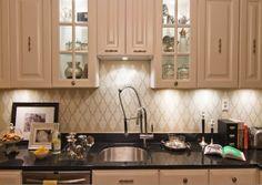 Attrayant Stenciled BackSplash. Kitchen ...