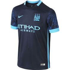 8c14b7ab1 Nike Youth Manchester City Away Stadium Jersey 15 16