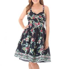 {Sweetheart Floral Dress} cute summer dress