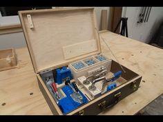 Custom Fitted Case for the Kreg Pocket Hole Jig - YouTube