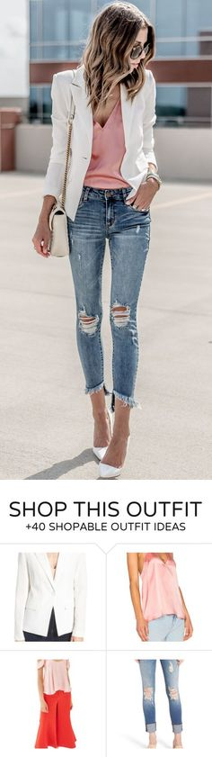 Womens ripped jeans - 25 Ripped Jeans Outfits That Prove Denim Is Here to  Stay fbc62162751
