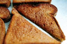 CinnMon Toast The Right Way---from The Pioneer Woman.  Evidently, I've been making it wrong for years, lol!