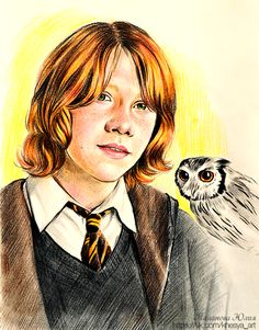 Ron Weasley by Knesya27.deviantart.com on @DeviantArt