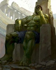 """""""Because you thought you were stronger than the Hulk? No one is stronger than the Hulk! Marvel Dc, Marvel Comics Art, Marvel Comic Books, Marvel Characters, Marvel Heroes, Comic Books Art, Comic Art, Comic Pics, World War Hulk"""