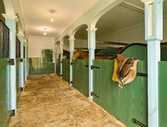 Blachford Manor Stables.  LOVE the stall design!
