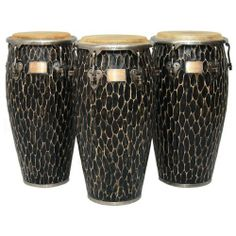 "11"" Master Handcrafted Original Conga w/ Stand by Tycoon. $459.00. This listing is for one 11"" Conga Drum w/ Stand - Available in 4 sizesAs the name suggests, these drums are hand-carved by highly-skilled craftsmen, resulting in their unique and beautiful appearance. No two drums will look exactly the same! Today, Tycoon Percussion is well-established throughout the world as a leading manufacturer of percussion products, and is the only hand percussion company that wholly o..."