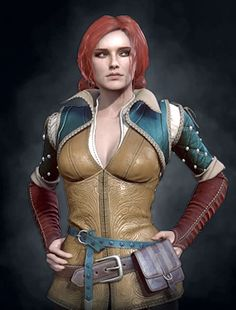 TRISS MERIGOLD in Witcher 3                              …