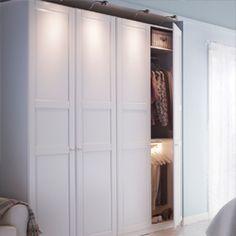 szafa pax drzwi tyssedal Garderoba in 2019 Szafa, Ikea
