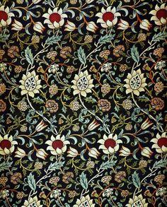 Art Nouveau Wallpaper Designs | design # textiles # art # 19th century