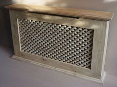 PALLET WOOD RADIATOR COVER