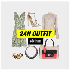 An outfit that works for the #office and an #afterwork #drink?! Oh yes - a #24houtfit! #ootd #outfit #atticandbarn #dress #rickowens #blazer #dianevonfurstenberg #dvf #shoes #heels #sandals #bag #tote #svevacollection #necklace #stellajean #bracelet