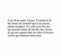 Franch Quotes : Citation - The Love Quotes Bad Quotes, Words Quotes, Love Quotes, Inspirational Quotes, Sayings, Deep Quotes, Pretty Words, Beautiful Words, Ig Captions