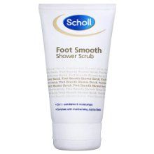 Scholl Footcare - Foot Smooth Shower Scrub 2in1 Action Exfoliatee Moisturisee - 150ml from Scholl at the Crack Heel - http://crackheel.com/scholl-footcare-foot-smooth-shower-scrub-2in1-action-exfoliatee-moisturisee-150ml/