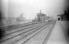 Heeley Station, before 1902 Sources Of Iron, Happy City, Industrial Development, Bus Terminal, Derbyshire, Sheffield, Pinterest Marketing, Old Pictures