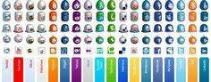 21 Packs de Iconos de redes sociales para descargar – Puerto Pixel   Recursos de Diseño