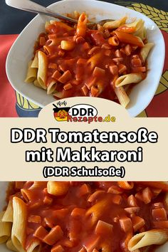 DDR tomato sauce with macaroni noodles - THE tomato sauce of the GDR par excellence – to go with it: delicious macaroni noodles. Chicken Casserole, Casserole Recipes, Chicken Stuffing, Stuffing Casserole, A Food, Food And Drink, Sauce Tomate, Evening Meals, Shrimp Recipes