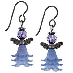 Angel of the Garden Earrings | Fusion Beads Inspiration Gallery